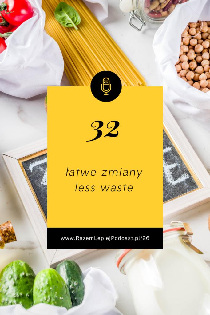 zmiany less waste