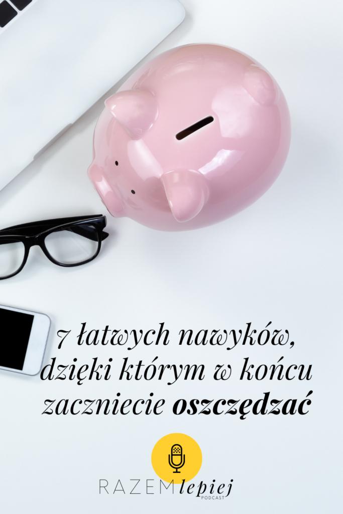 nawyki oszczędzania