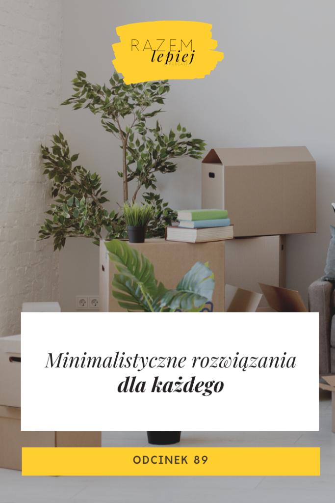minimalistyczne sposoby