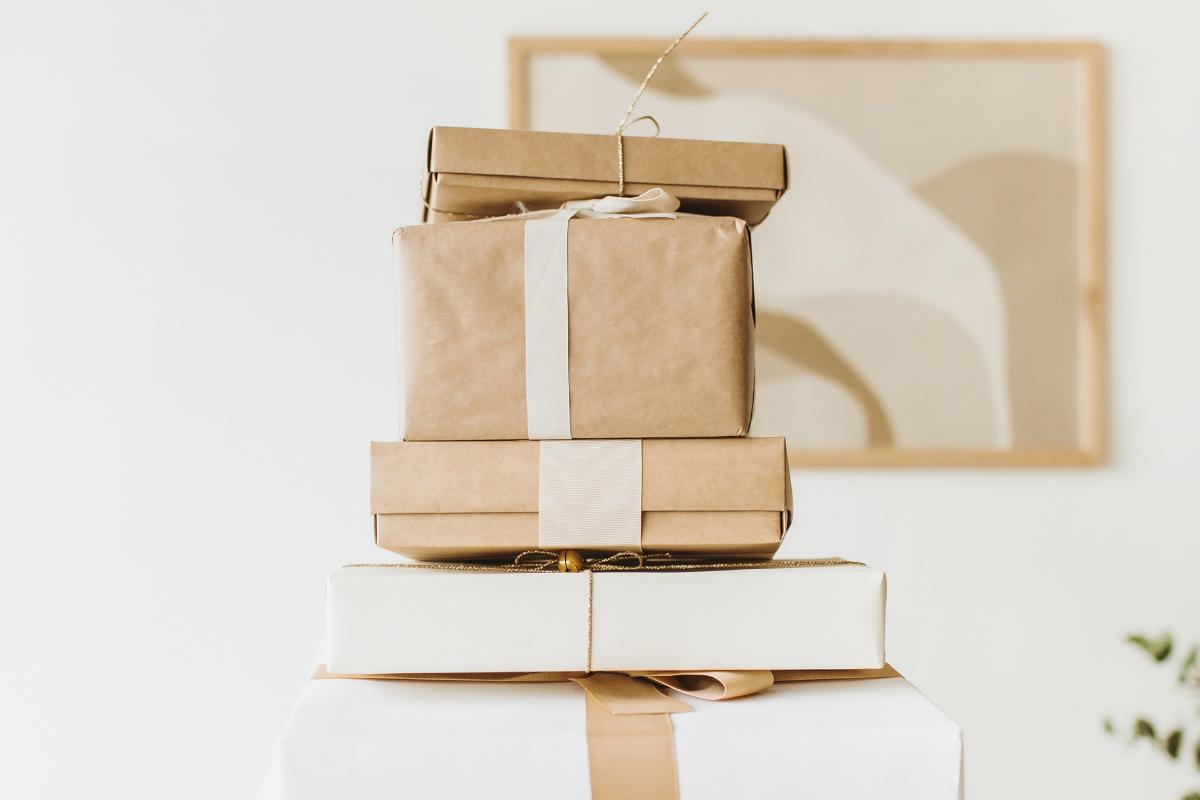 minimalistyczne prezenty